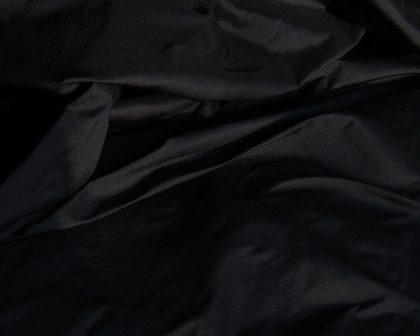 black dupion