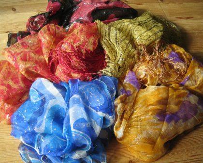 silk chiffon scarves