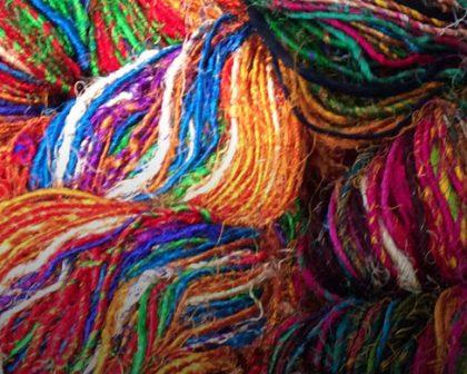Silk Sari Yarn